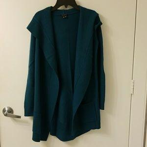 Theory cardigan 100% cashmere  size P